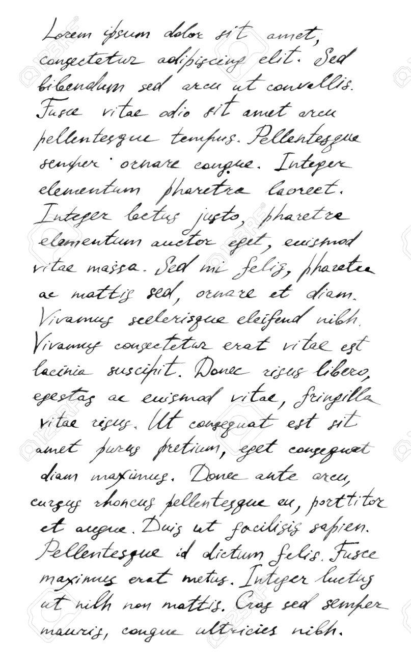 45474513-handwriting-old-letter-latin-text-lorem-ipsum